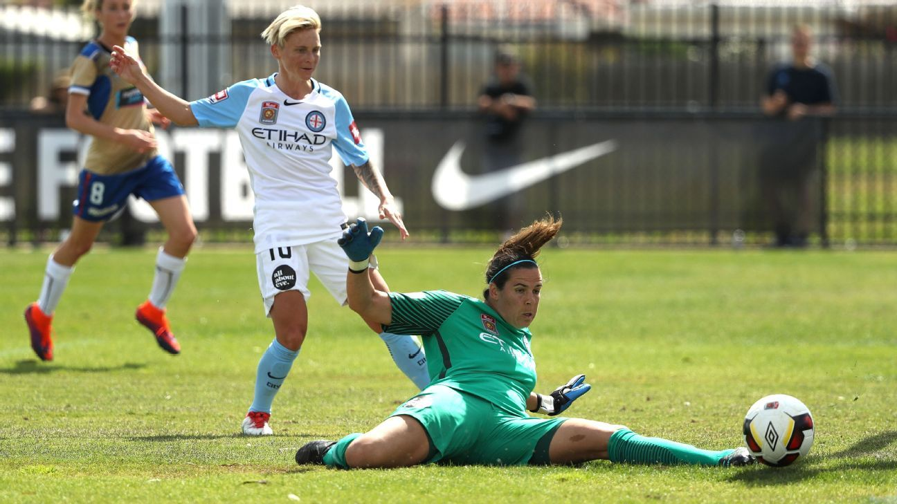 Melbourne City goalkeeper Lydia Williams