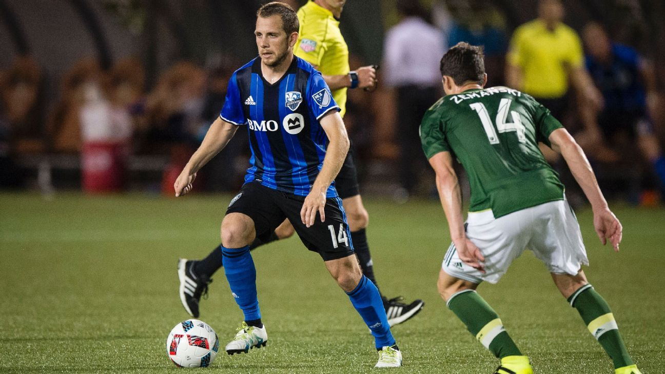 Seattle Sounders acquire midfielder Harry Shipp from Montreal Impact