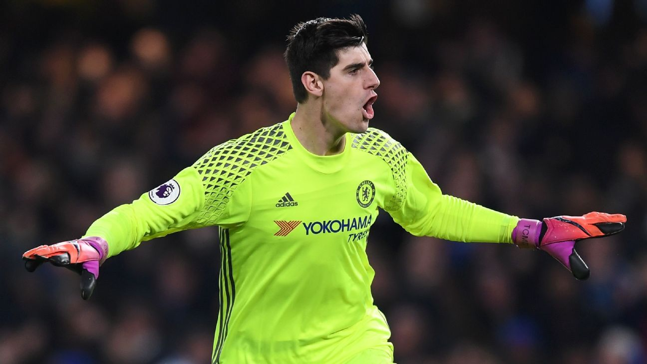 Thibaut Courtois in no hurry over new Chelsea deal and focused on