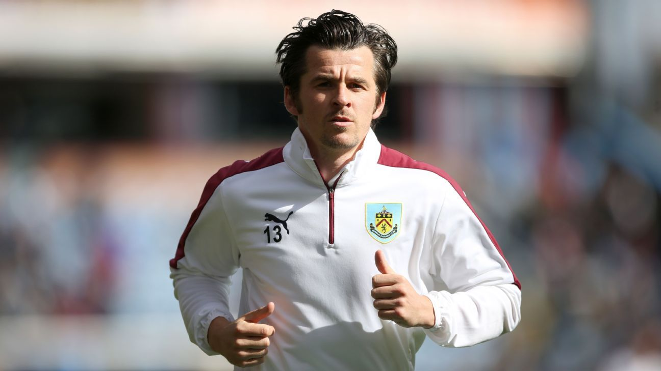 Joey Barton returned to Burnley in their FA Cup draw.