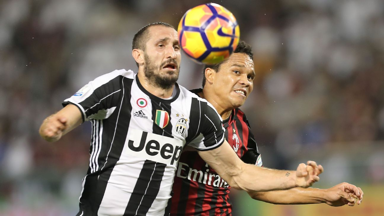 Chiellini action vs MIlan 161223