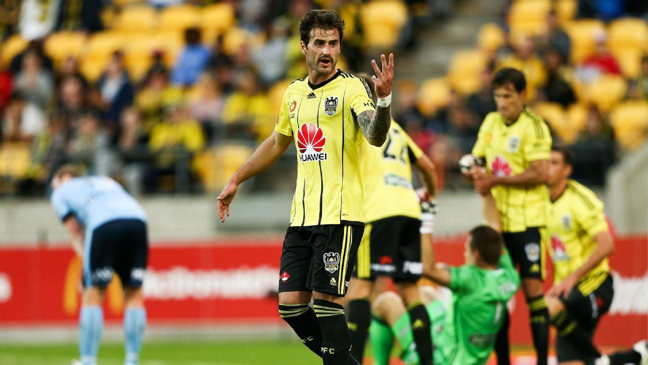 Wellington Phoenix defender Tom Doyle