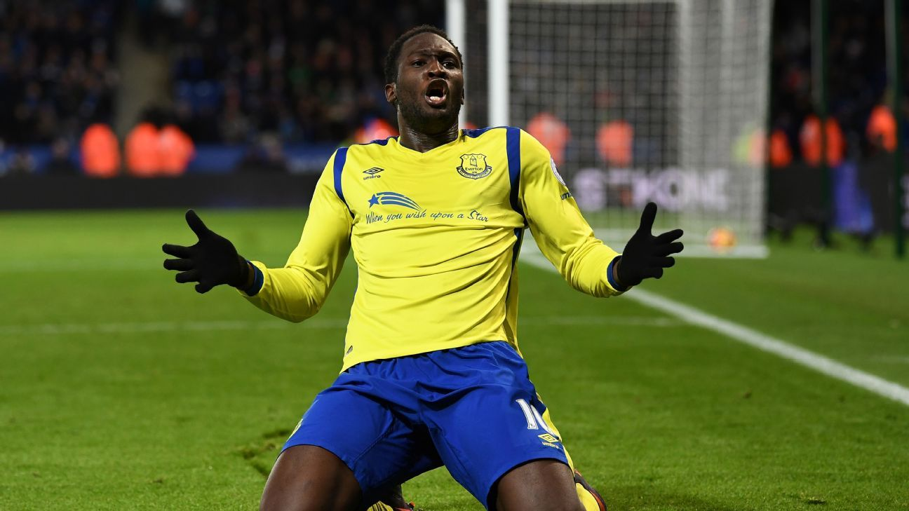 Romelu Lukaku secured Everton's Boxing Day victory at Leicester.