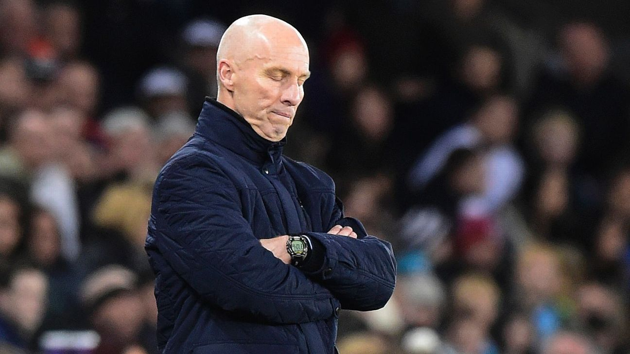 Bob Bradley's Swansea didn't improve, it only found new ways to lose.