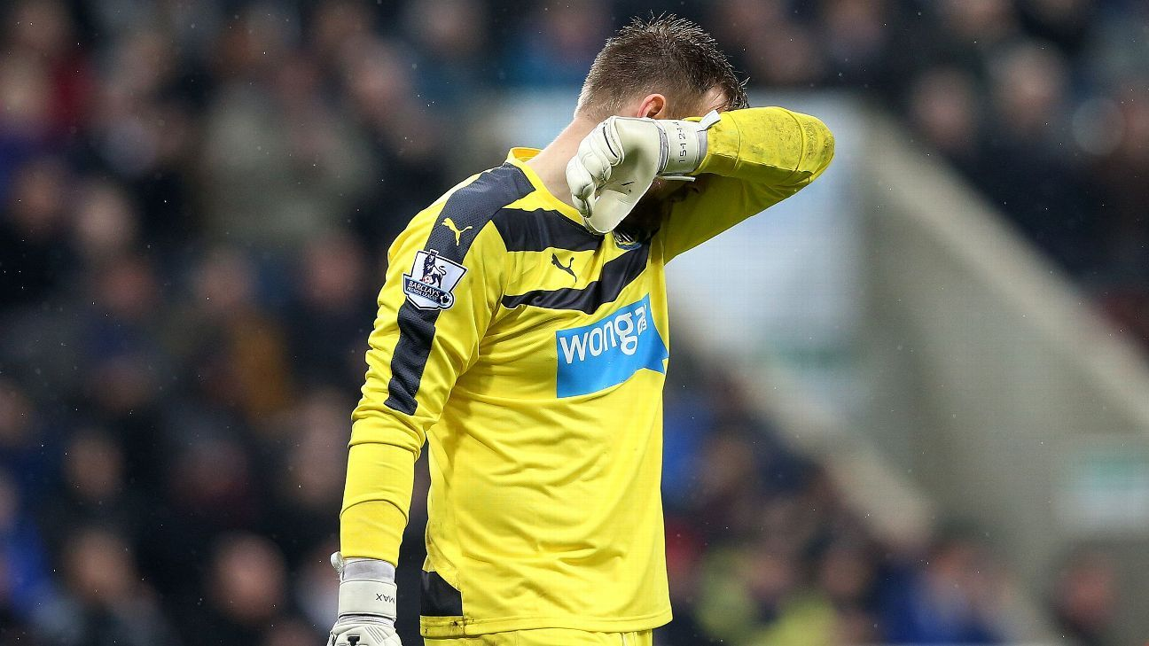 Rob Elliot Newcastle 20151226