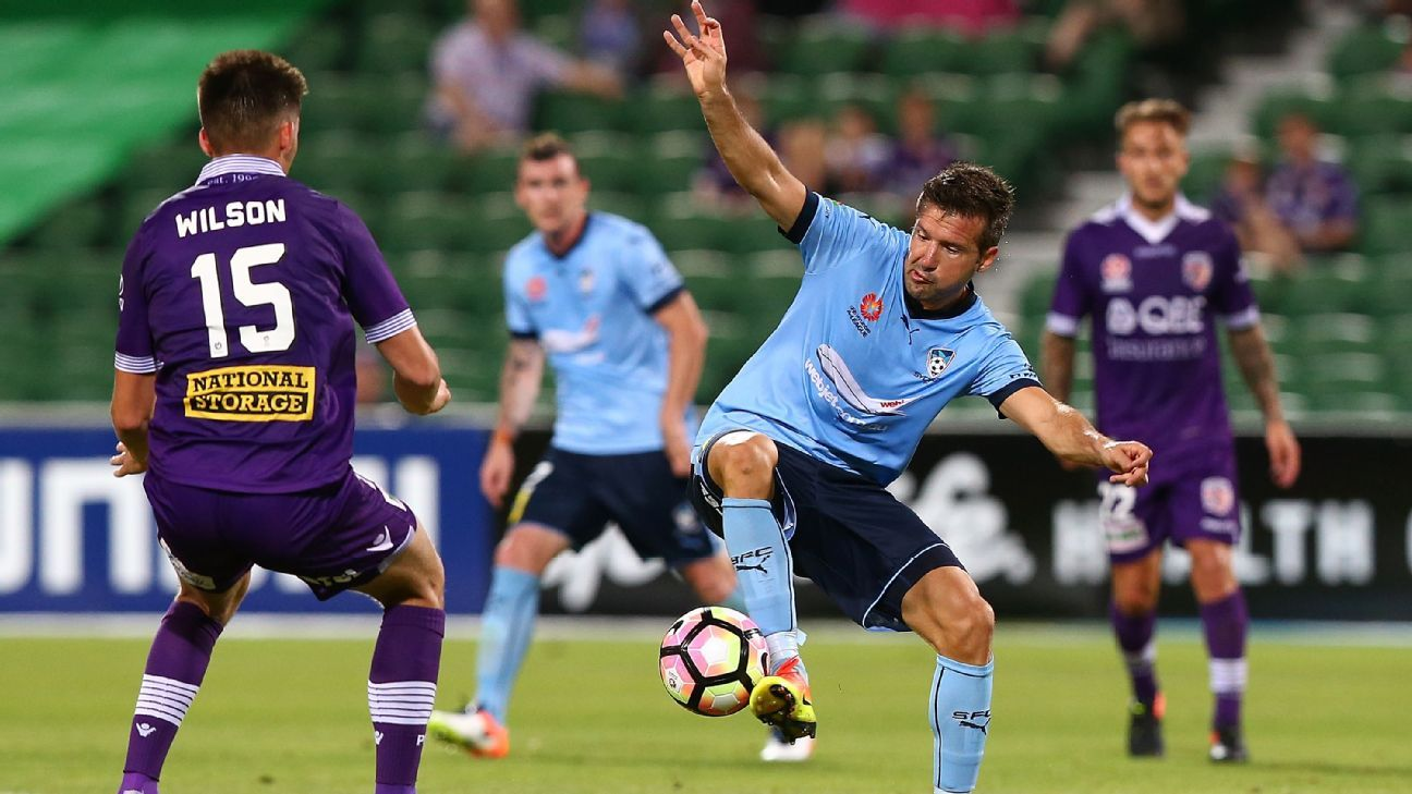 Sydney FC's Milos Dimitrijevic