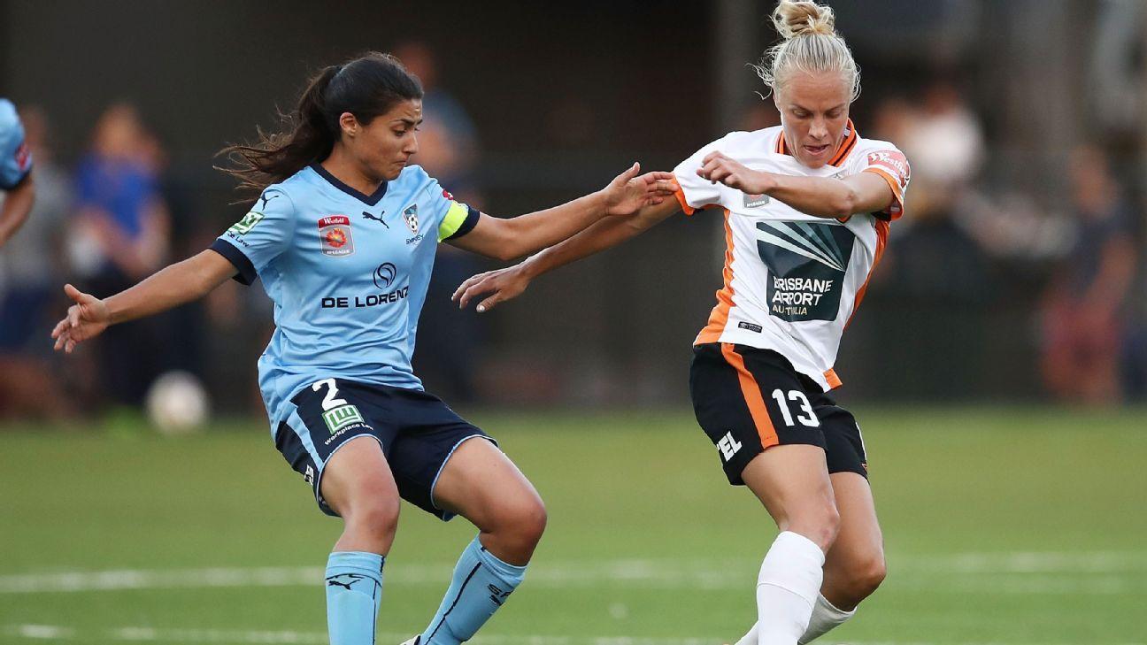 Sydney FC's Teresa Polias