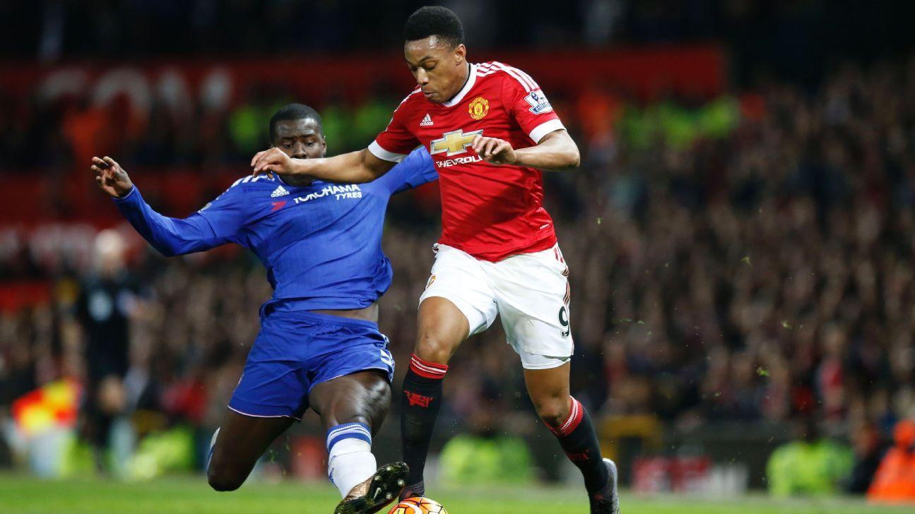 Anthony Martial vs Chelsea 20151228