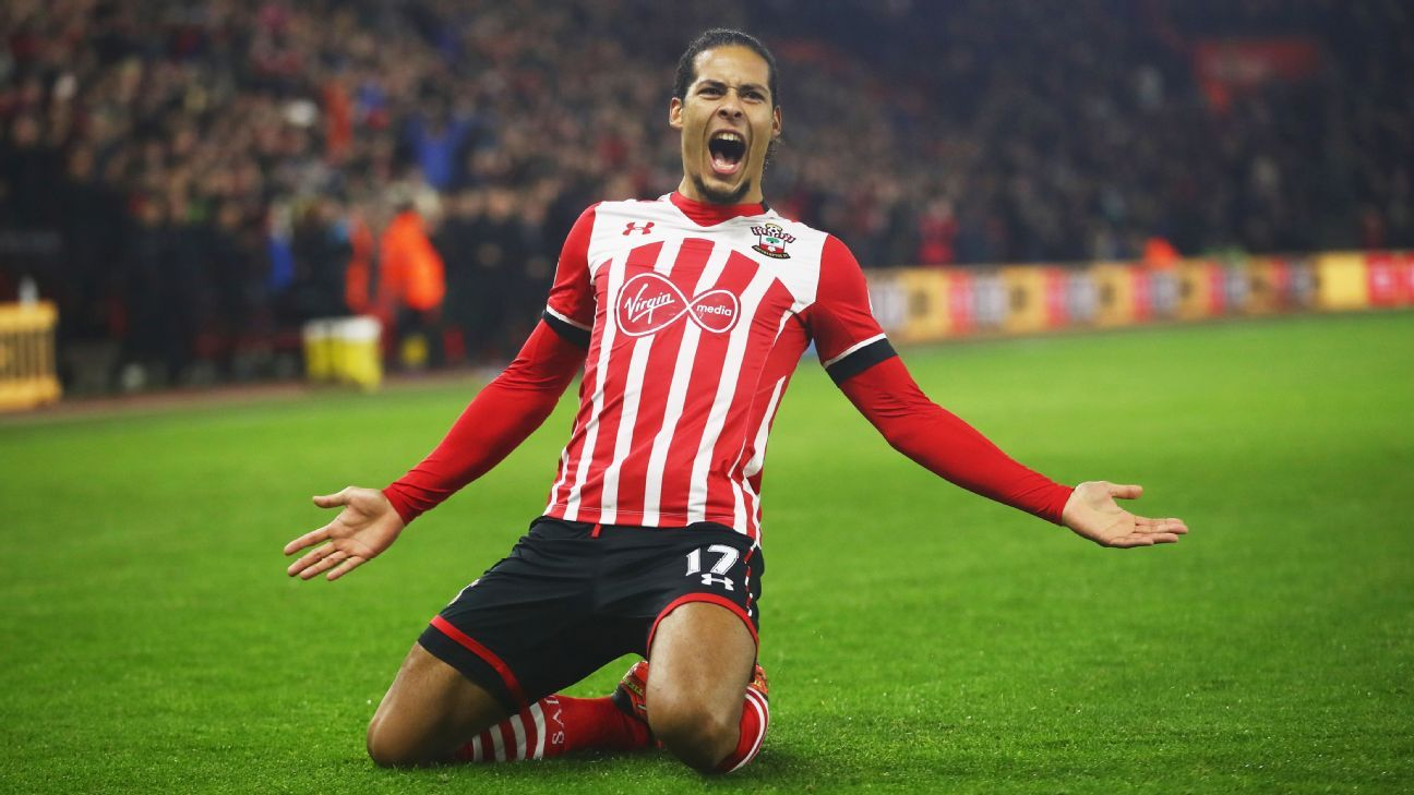 Virgil van Dijk and Southampton might not crack the top six, but they're among the