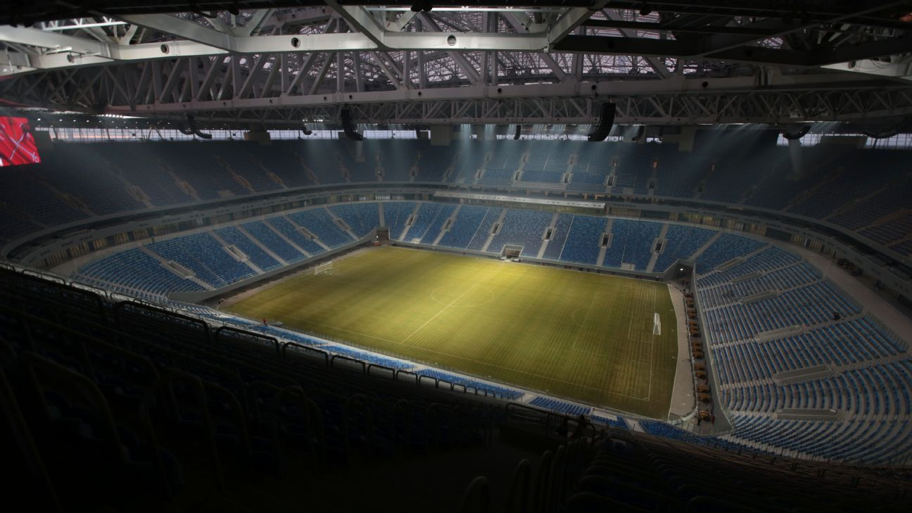 Zenit Arena will be a venue for the FIFA World Cup 2018.