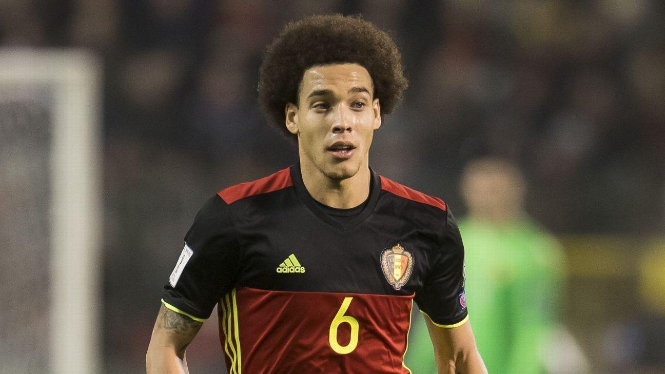 Roberto Martinez backs Axel Witsel for Belgium despite Chinese