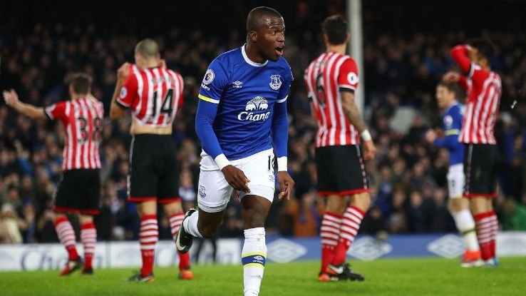 Enner Valencia opened the scoring for Everton.
