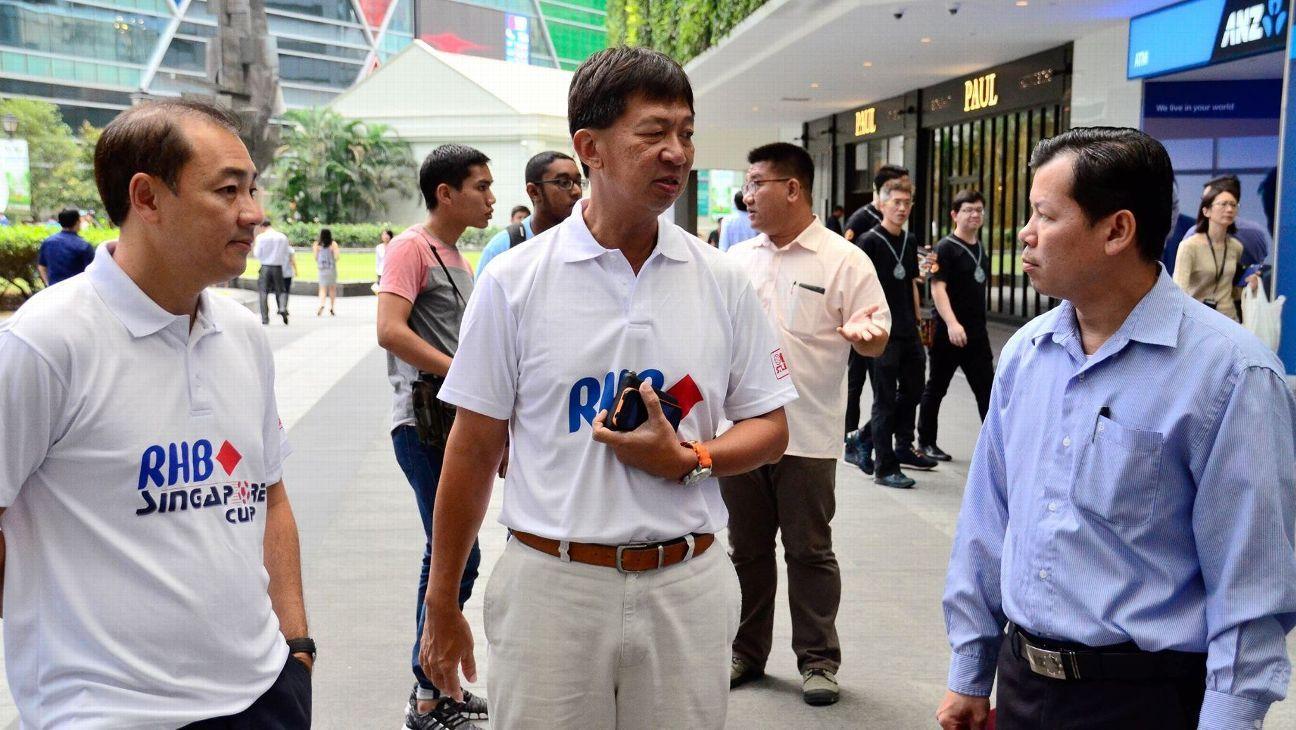 S.League CEO Lim Chin