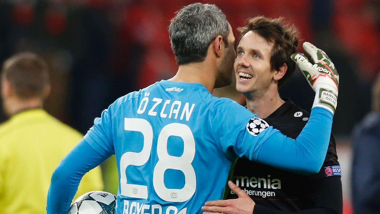 Bayer Leverkusen forward Robbie Kruse