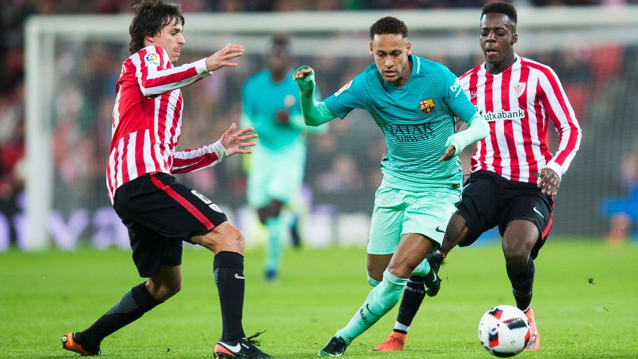 Neymar action vs Bilbao 170105