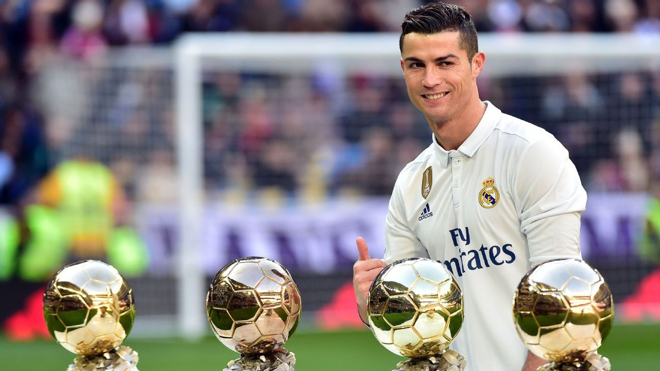 Dec. 12, 2016 - Wins Ballon d'Or