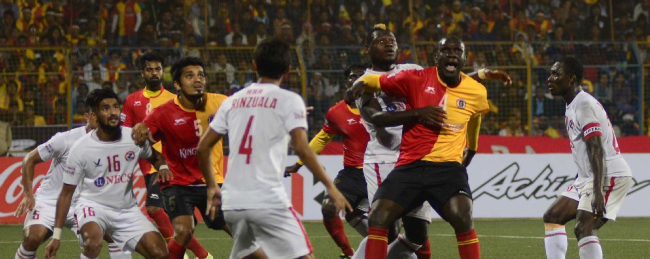 East Bengal had to settle for a 1-1 draw against Aizawl FC in their I-League opener.