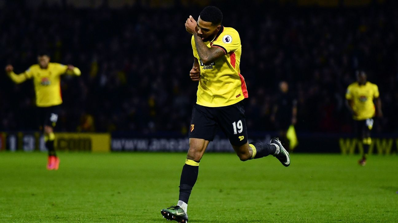 Jerome Sinclair capped Watford's victory over Burton Albion.