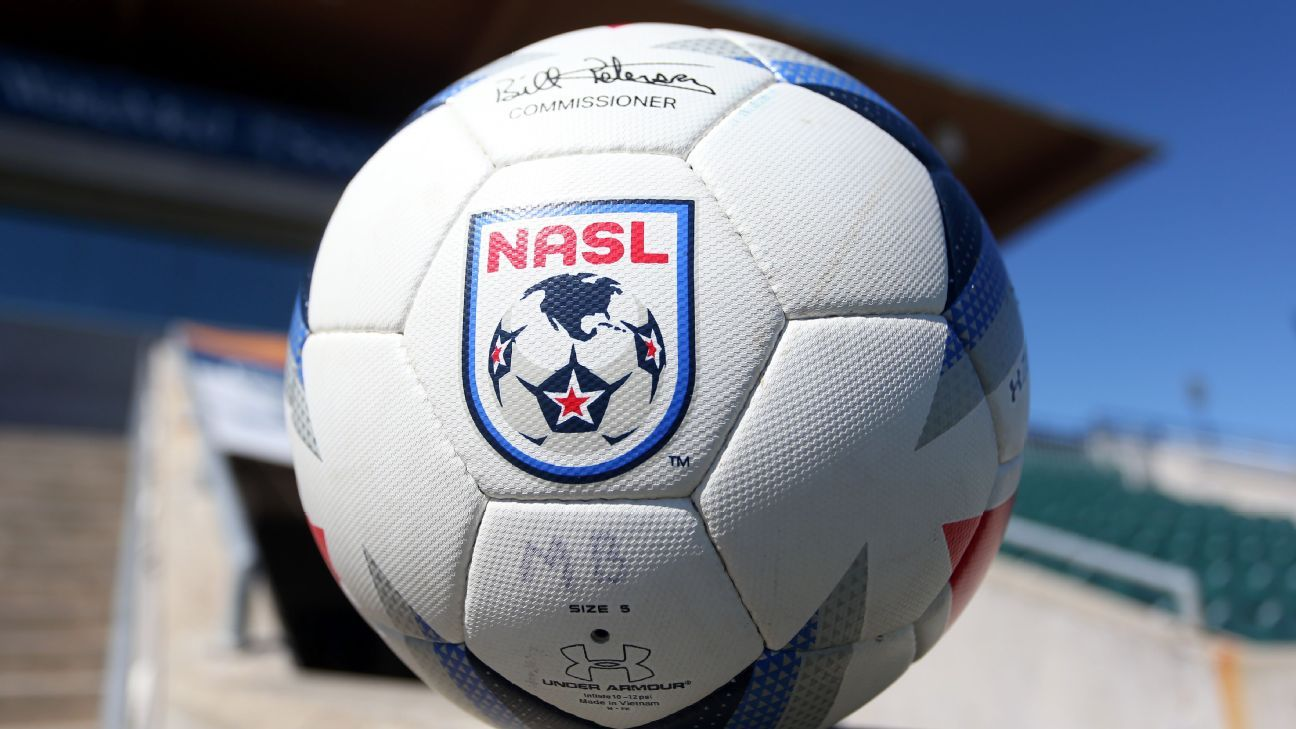 The official Umbro NASL match ball
