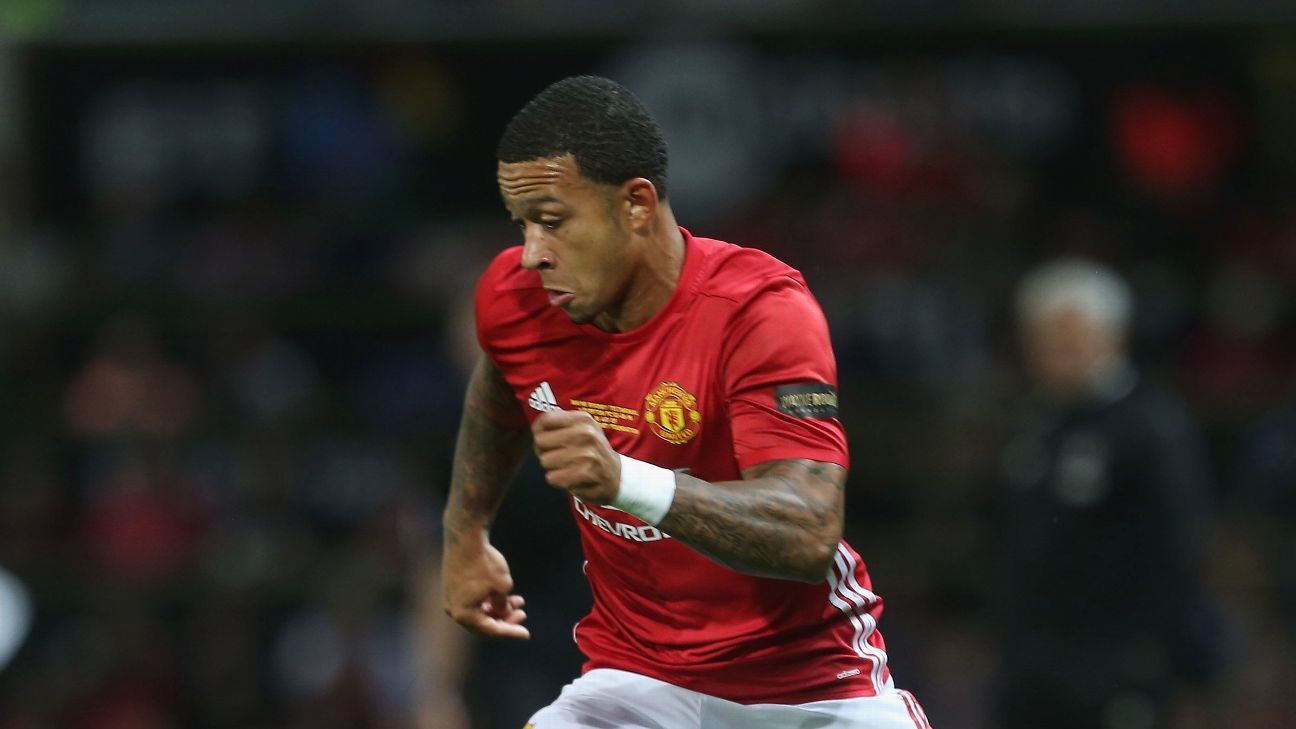 Memphis Depay has found regular playing time at Manchester United hard to come by under Jose Mourinho.