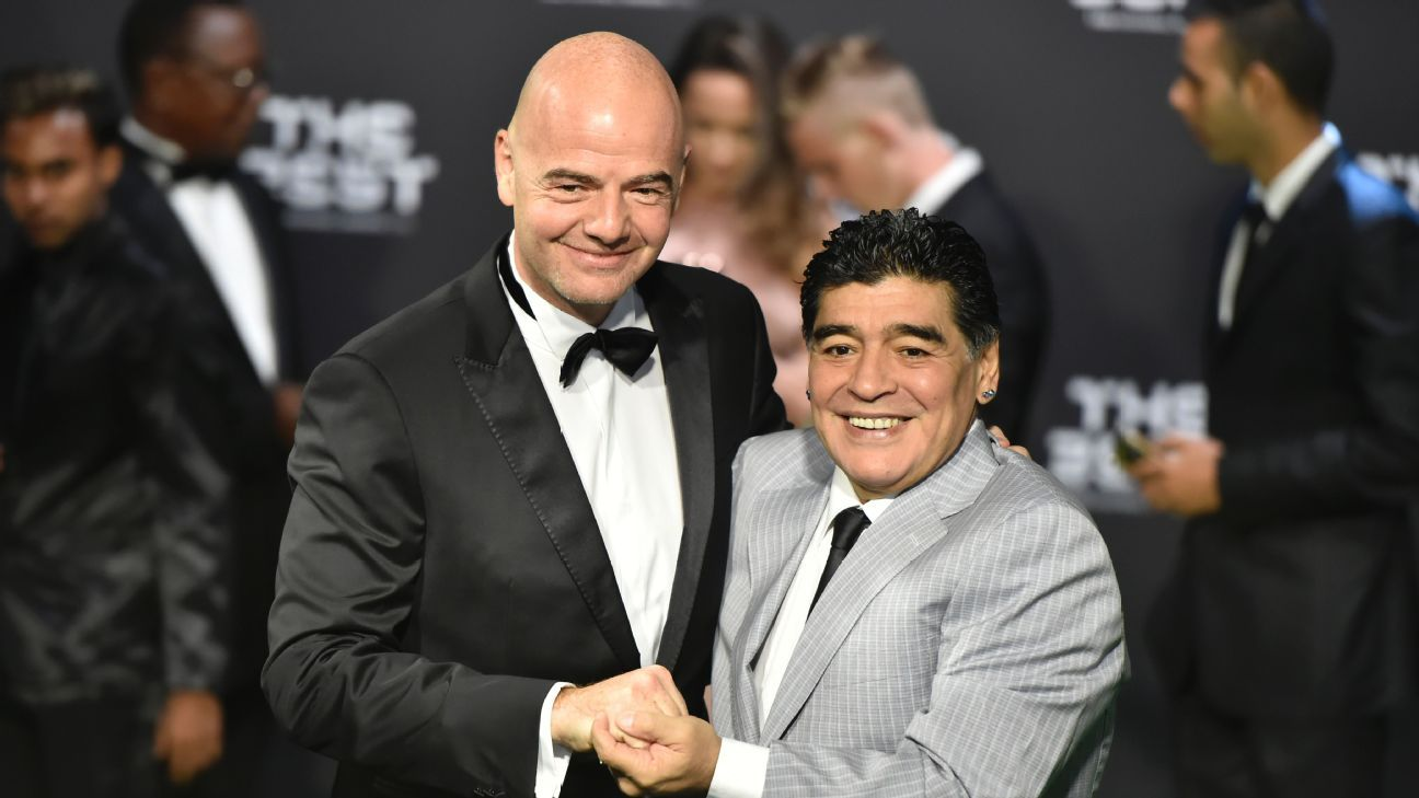 Diego Maradona's apology to FIFA: I was overcome with emotion