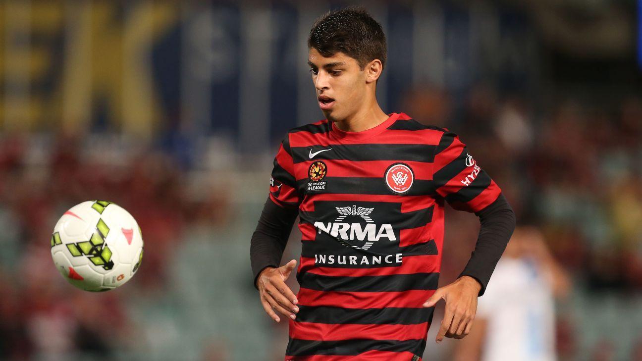 Western Sydney Wanderers defender Jonathan Aspropotamitis