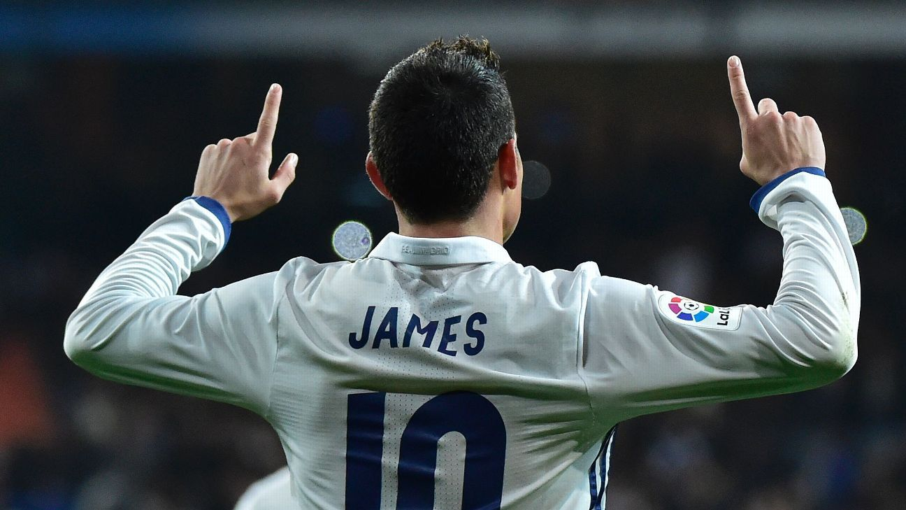James Rodriguez seems to be content at Real Madrid, but a move to Paris Saint-Germain would be a perfect fit for both player and team.