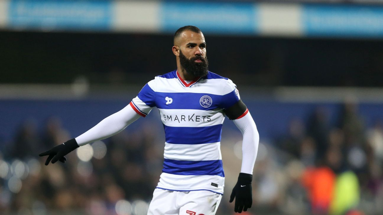 Sandro during the Championship match between Queens Park Rangers and Wolverhampton Wanderers.
