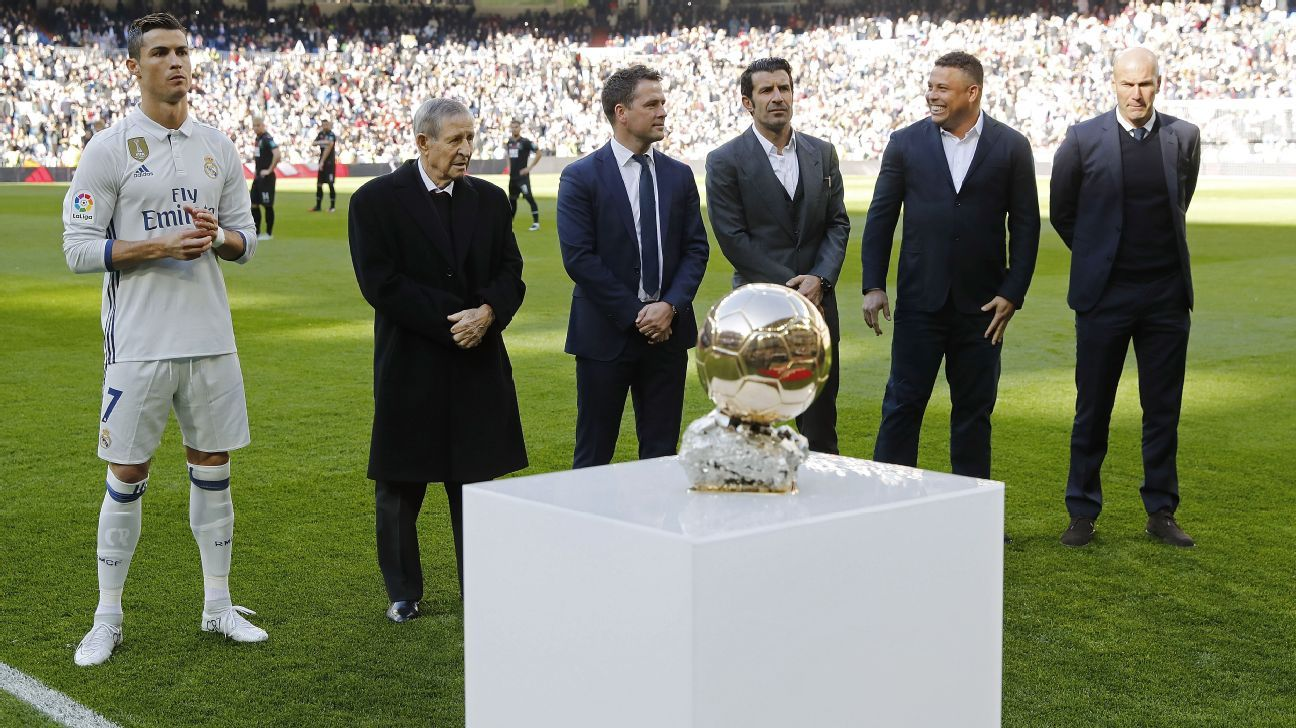 Real Madrid legends congratulate Cristiano Ronaldo