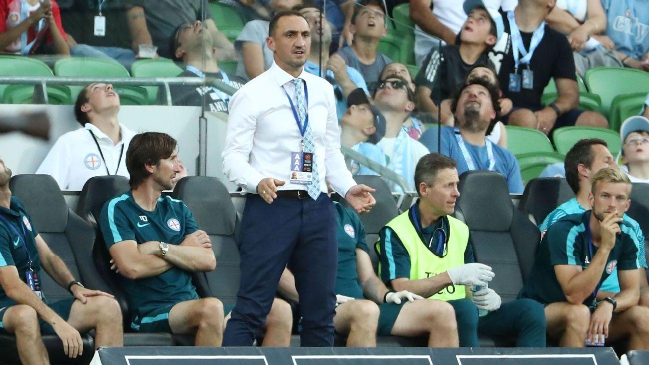 Melbourne City interim coach Michael Valkanis
