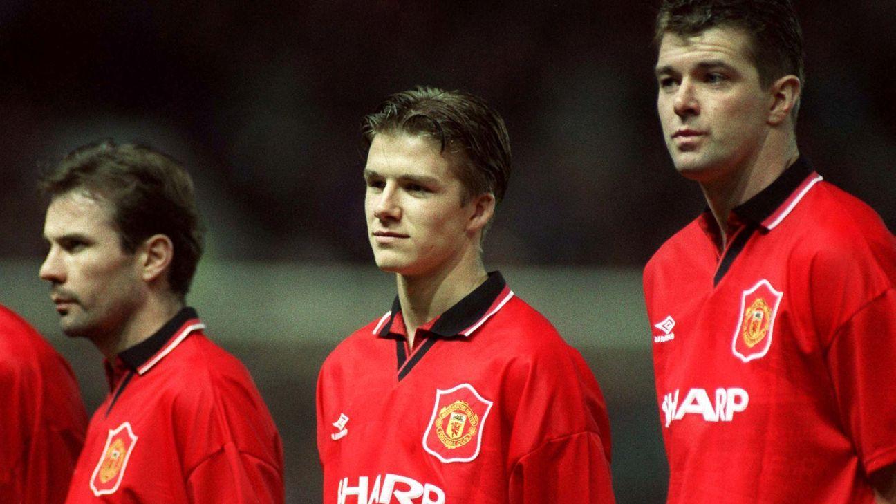 David Beckham in 1994