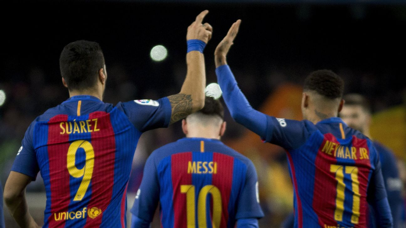 Barcelona defeated Athletic Bilbao 3-1 on Wednesday.