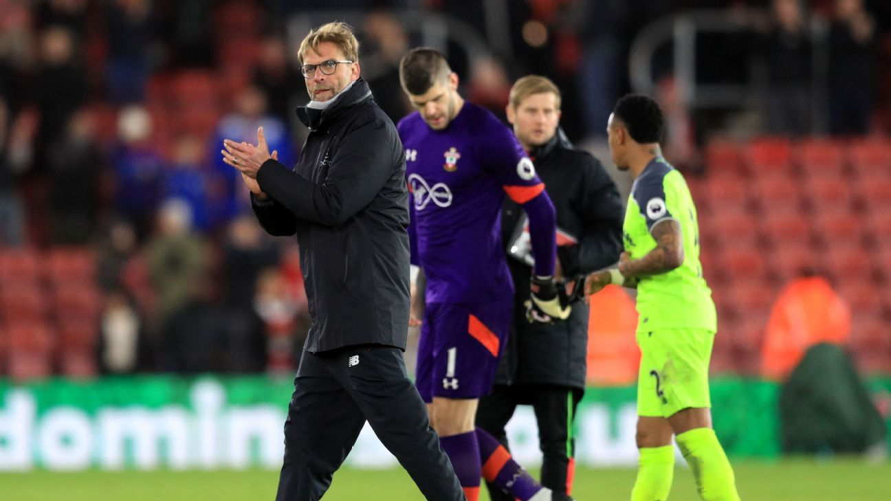 Klopp applauds post Saints 170111