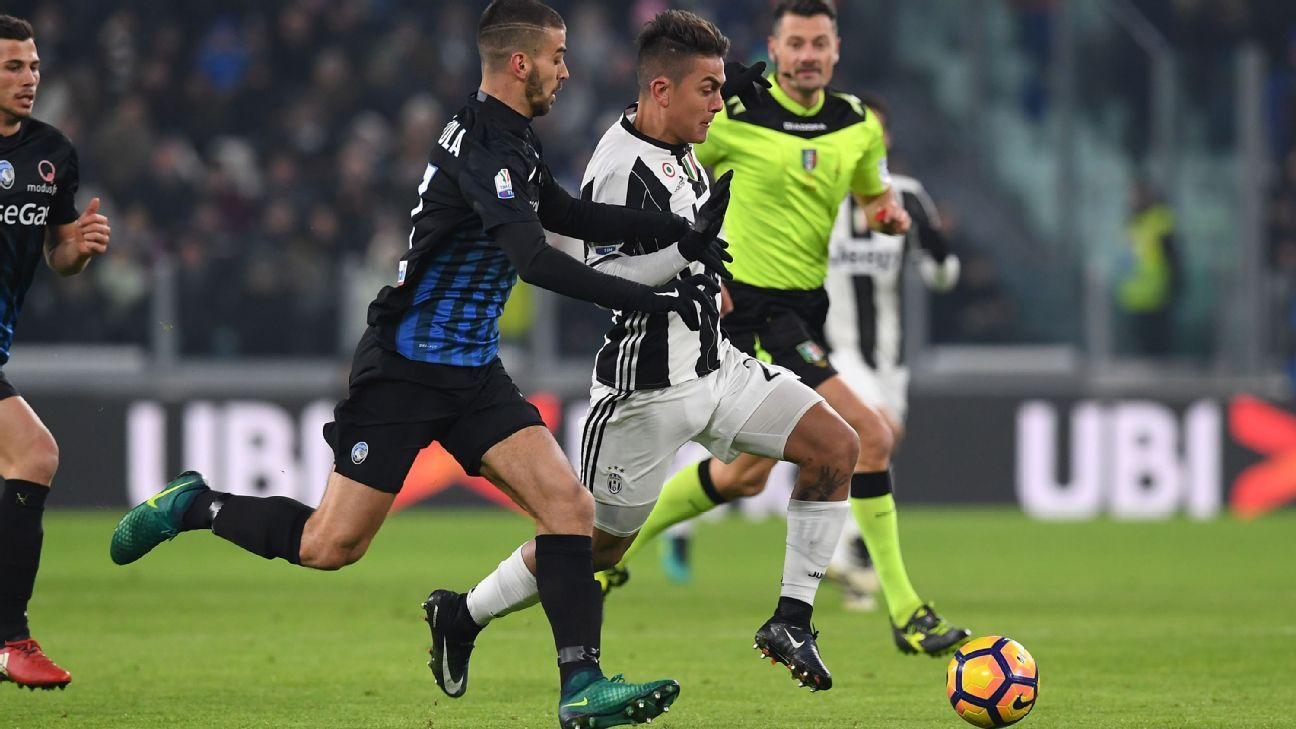 Dybala action vs Atalanta 170111