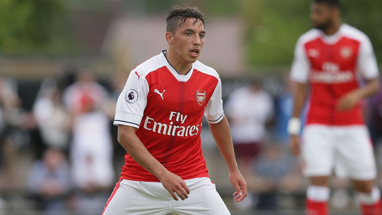 Ismael Bennacer during his time in London