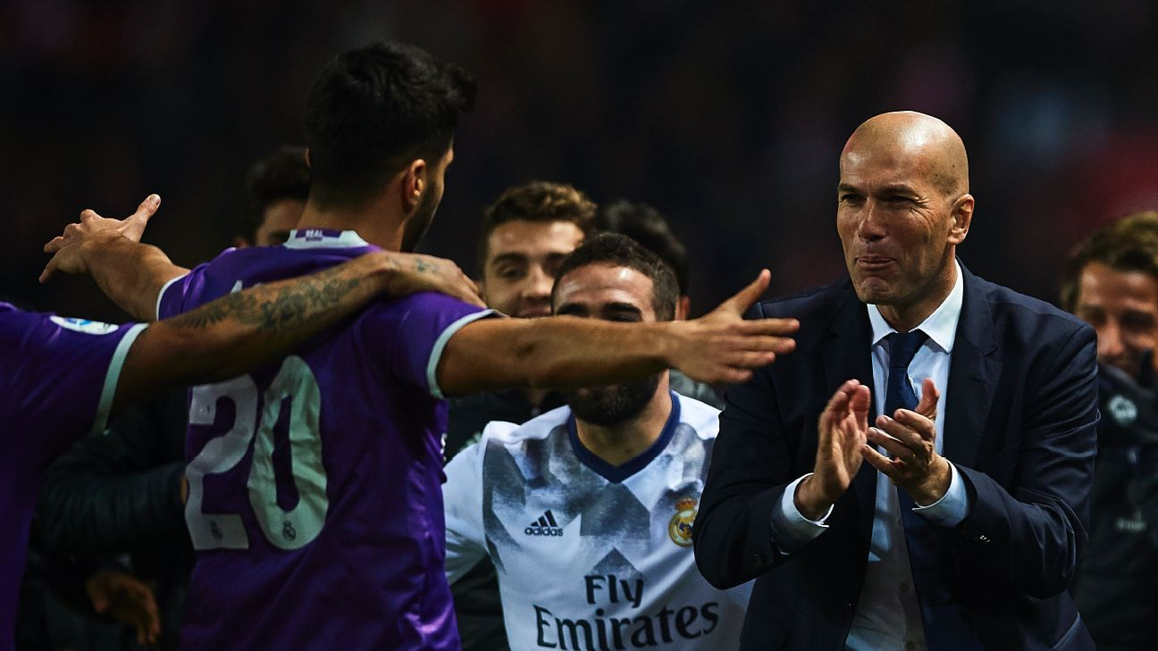 Real Madrid extended their unbeaten run to 40 matches.