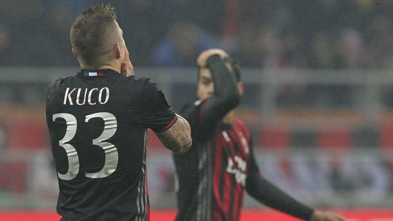 AC Milan's Juraj Kucka