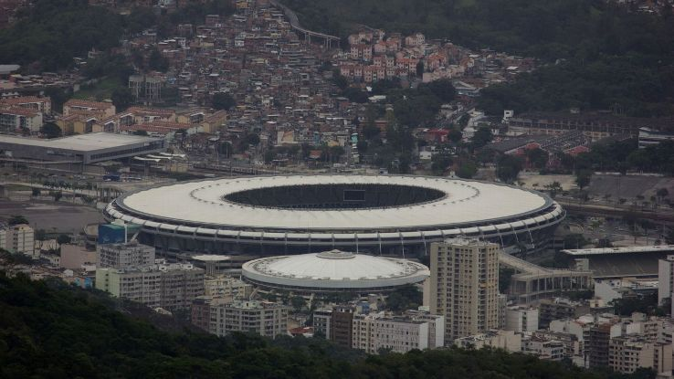Maracana wide view Rio