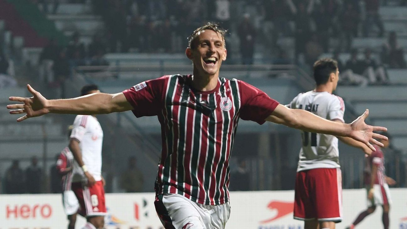 Darryl Duffy's double powered Mohun Bagan to a win over Shillong Lajong.