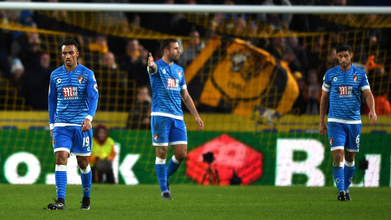 Bournemouth slumped to a 3-1 defeat to last-placed Hull City.