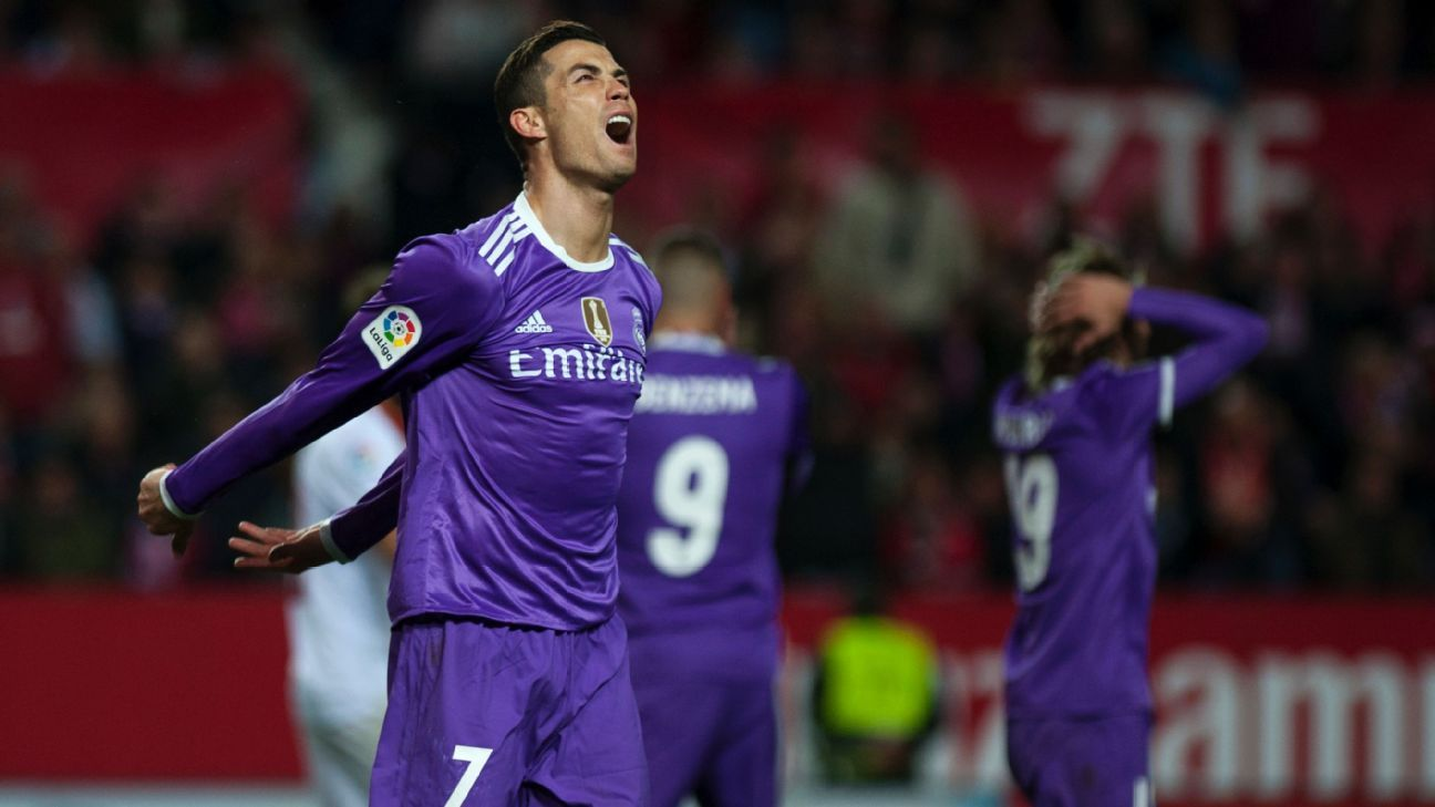 Real Madrid saw their unbeaten streak die in the final moments of Sunday's 2-1 loss.