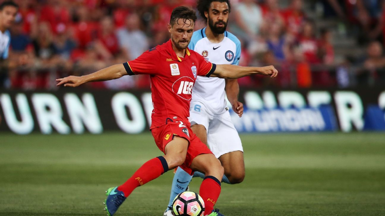 Adelaide United's James Holland