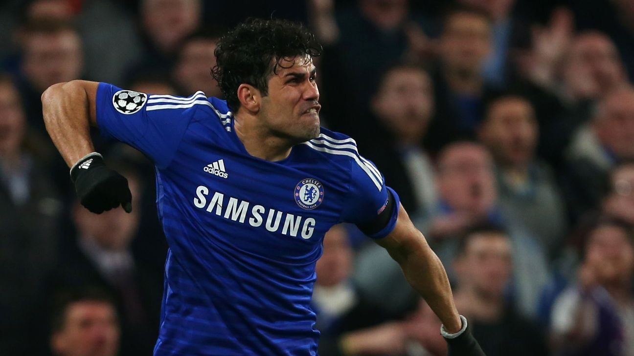 Chelsea Slavia Detail: Diego Costa Set For Chelsea Exit Manchester United