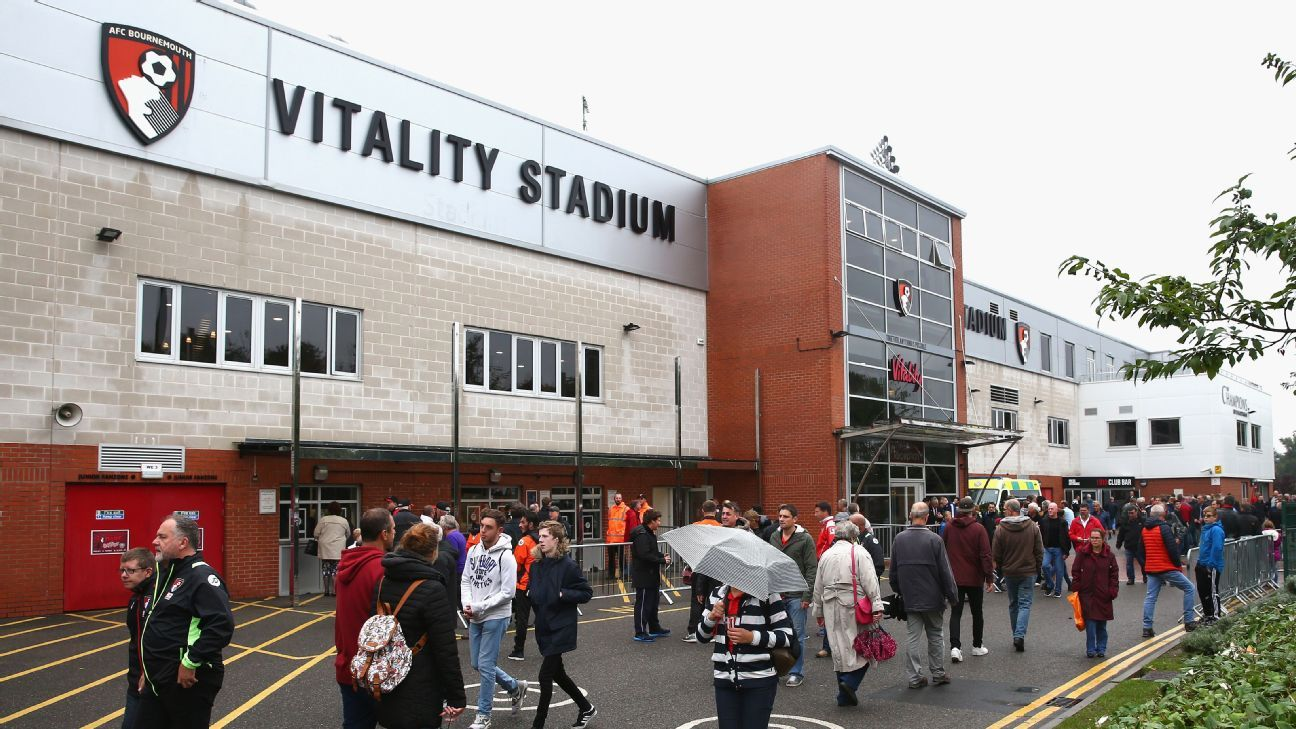Vitality Stadium outside external entrance