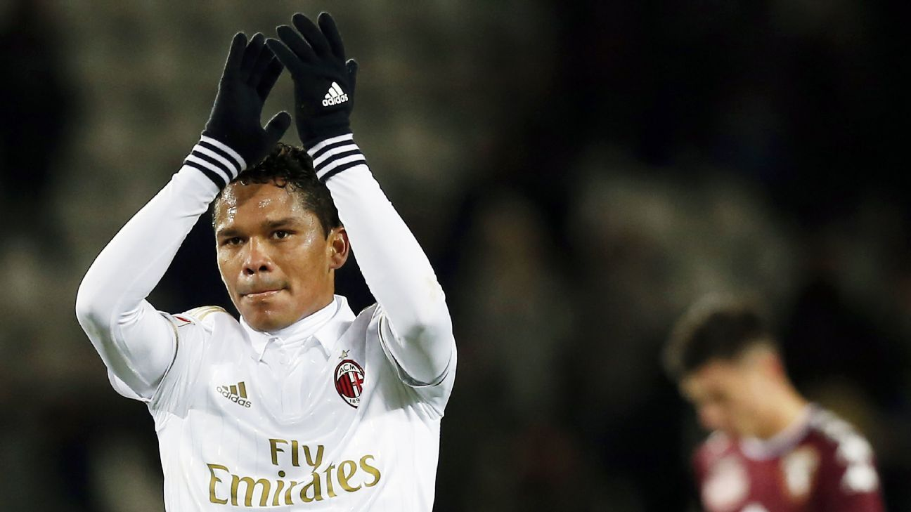 Carlos Bacca came away with a point from their trip to Torino.