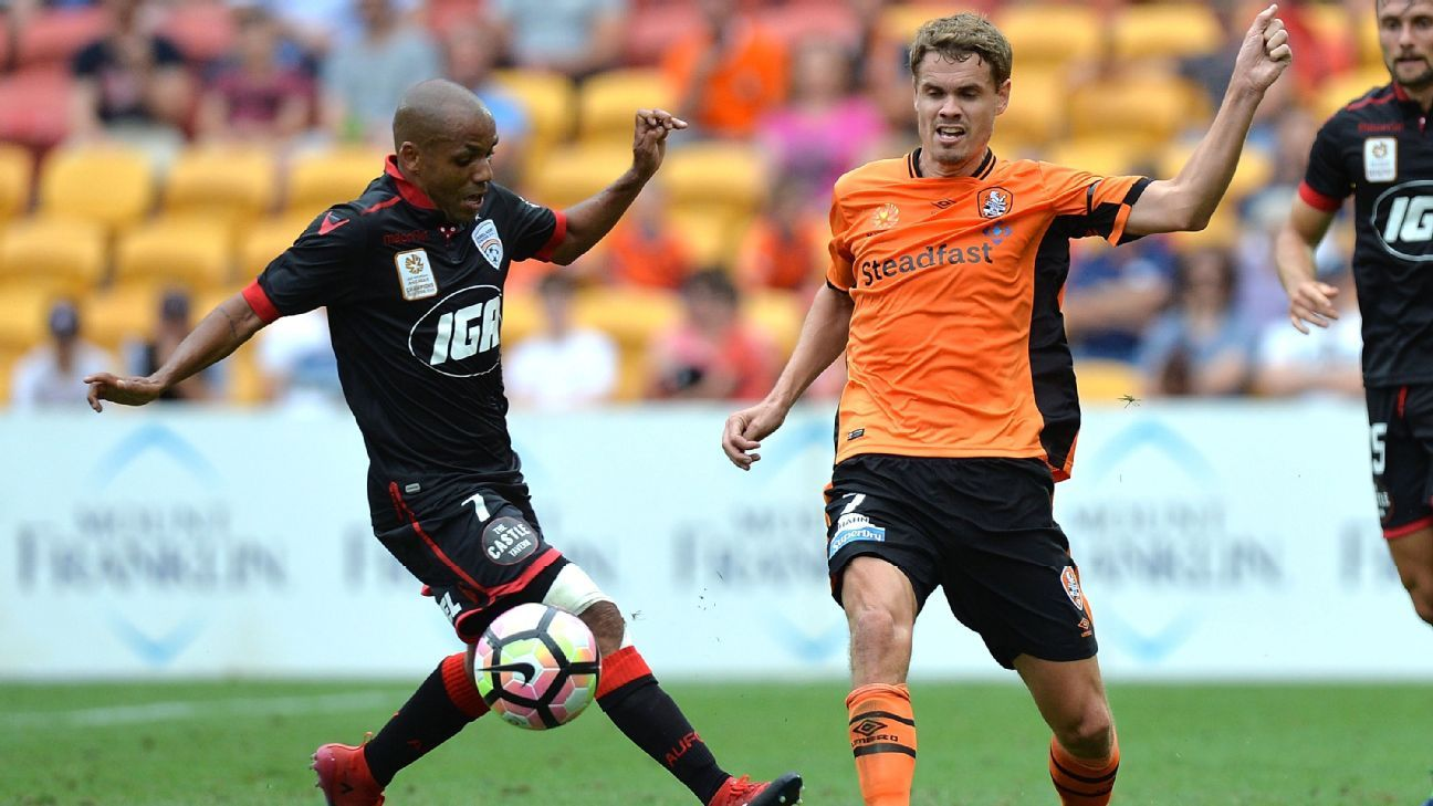 Brisbane Roar's Thomas Kristensen