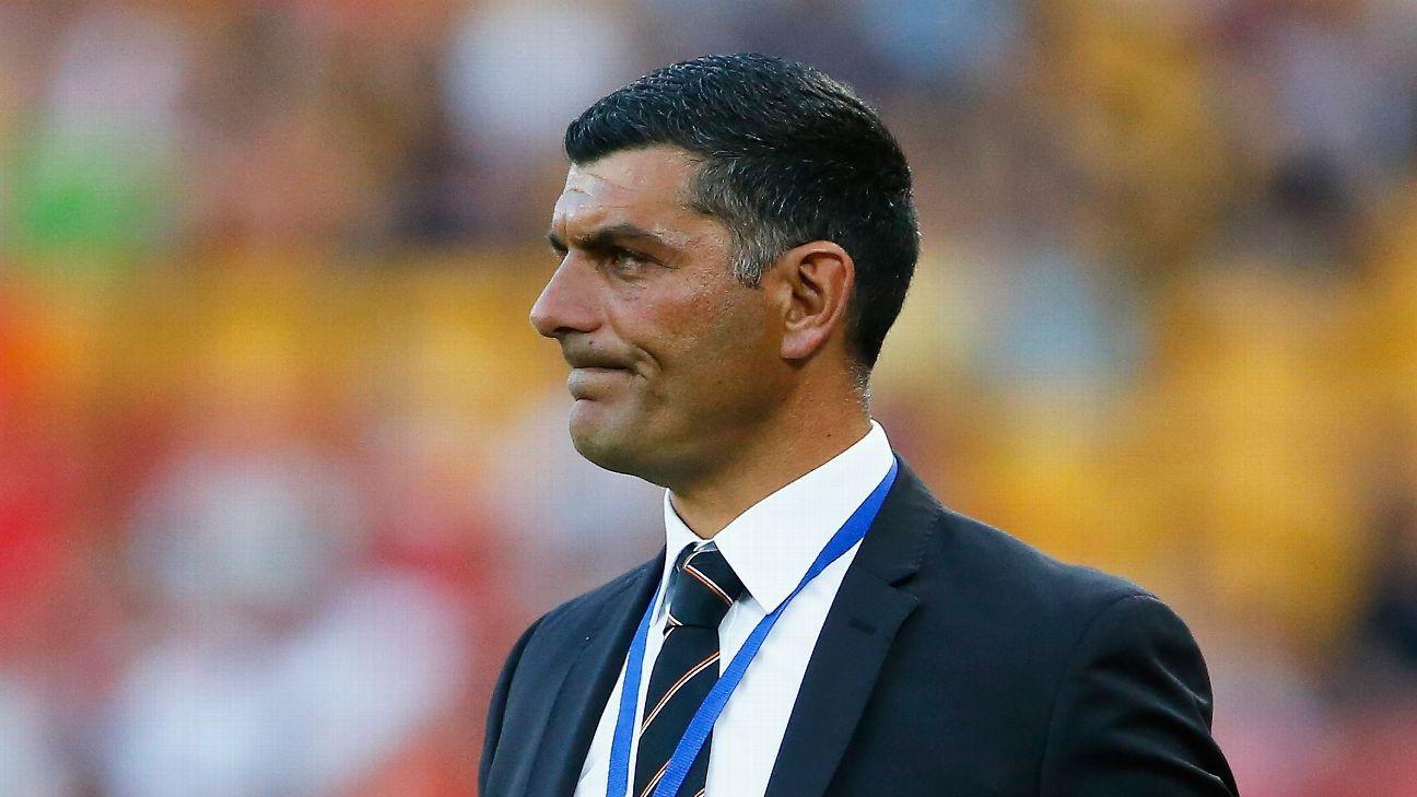 Brisbane Roar coach John Aloisi