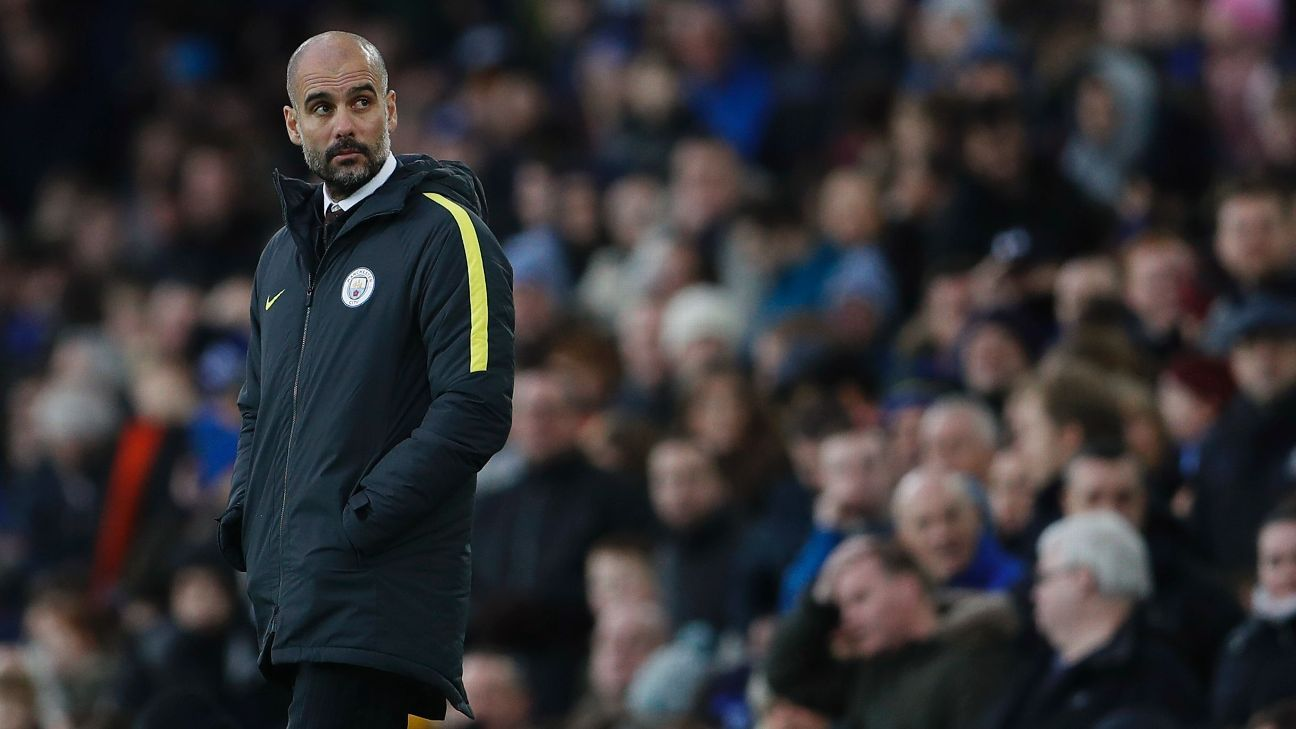 Pep Guardiola has never faced this tough of a test as a manager, so how is he faring under the pressure?