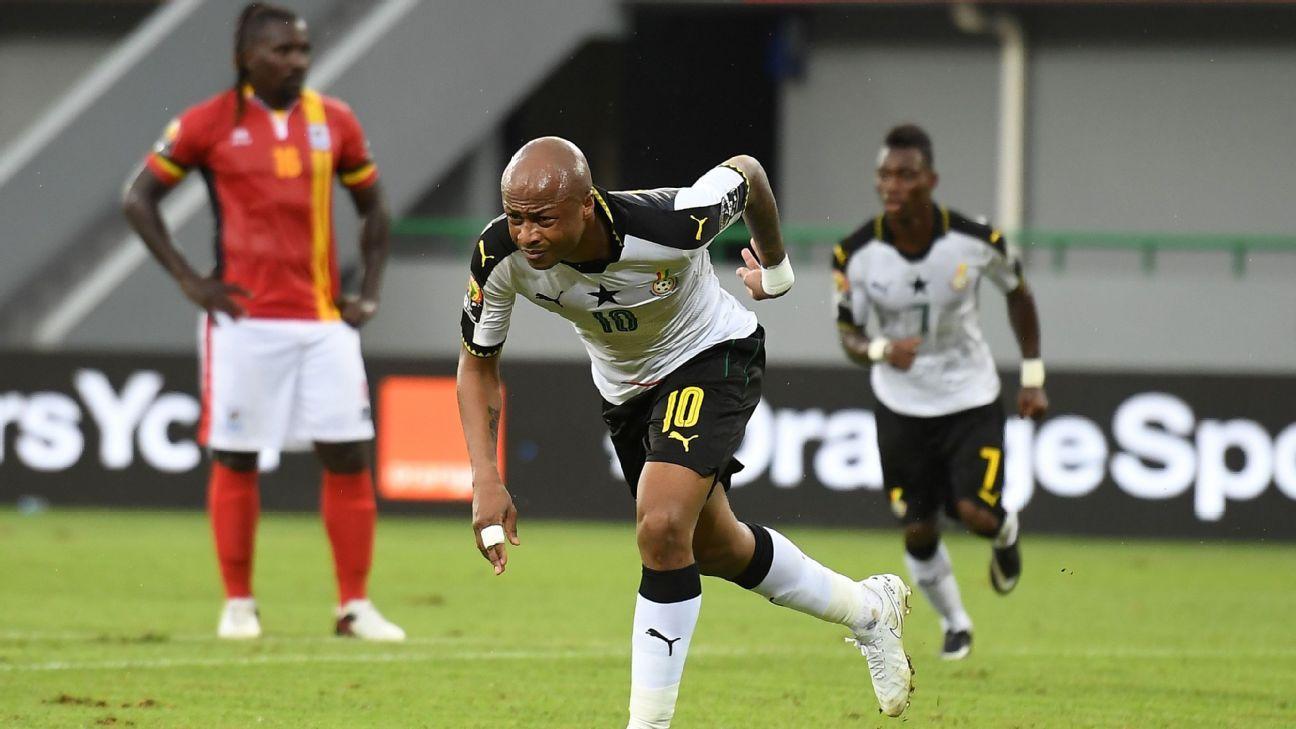 Ghana attacker Andre Ayew