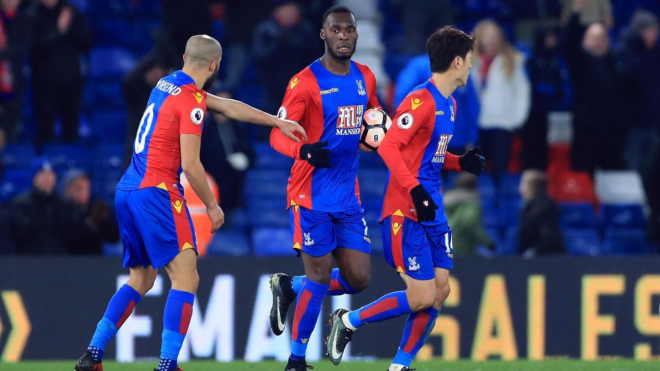 Christian Benteke and Palace came from behind to defeat Bolton.